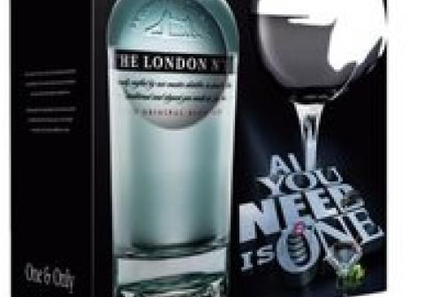 The London N.1 + gratis glas